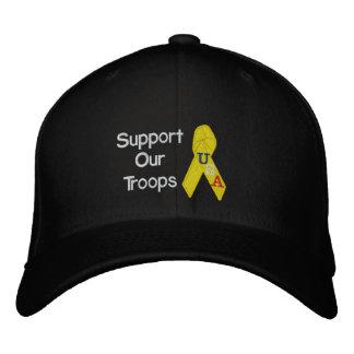 Soutenez notre casquette brodé par troupes