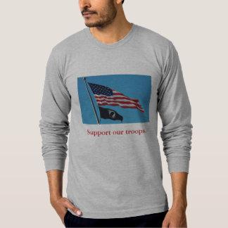 Soutenez notre chemise de troupes t-shirt
