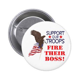 Soutenez notre FEU de troupes… LEUR PATRON ! Badge