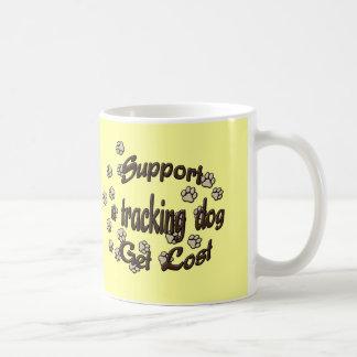 Soutenez un chien de cheminement mug