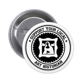 Soutenez votre historien d'art local badge
