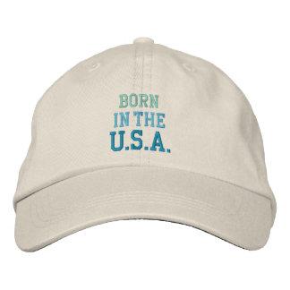 SOUTENU DANS le casquette des Etats-Unis