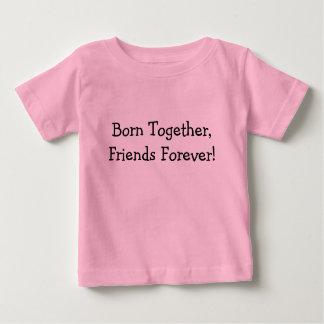 Soutenu ensemble, amis pour toujours ! t-shirt pour bébé
