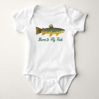 """""""Soutenu pêche humoristique de bébé pour piloter Body"""