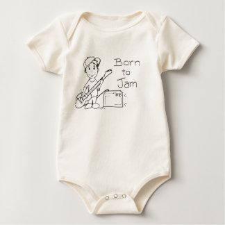 Soutenu pour bloquer le bébé body