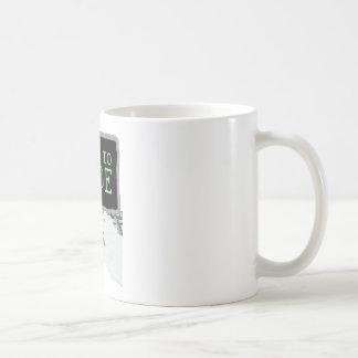 Soutenu pour coder mug blanc