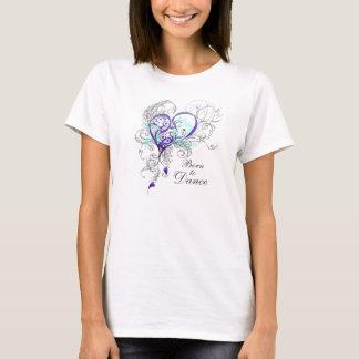 Soutenu pour danser le T-shirt de Babydoll