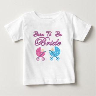 soutenu pour être bachelorette de jeune mariée t-shirt