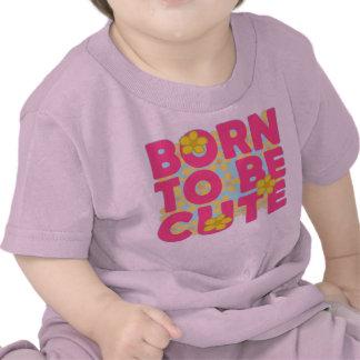 Soutenu pour être mignon t-shirts