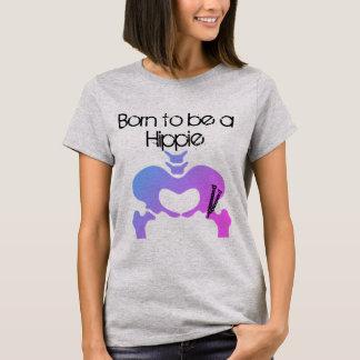 Soutenu pour être un pourpre Hue du T-shirt des
