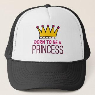 Soutenu pour être une princesse casquette