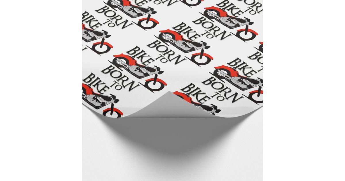 Soutenu pour faire du v lo papier cadeau no l zazzle - Comment faire du papier cadeau ...