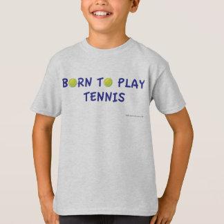 Soutenu pour jouer le T-shirt de tennis