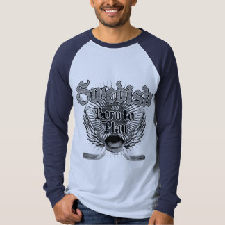 Soutenu pour jouer (Suédois) T-shirts