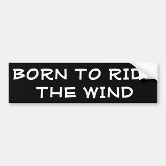 Soutenu pour monter le vent autocollant de voiture