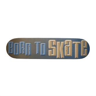 Soutenu pour patiner plateau de skateboard