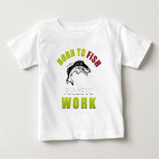 soutenu pour pêcher et travailler le T-shirt de