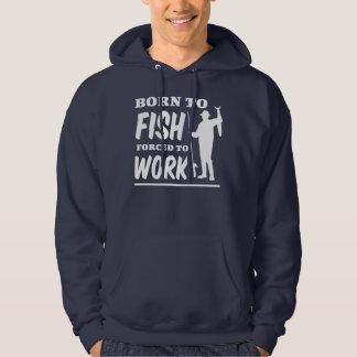 Soutenu pour pêcher obligatoire pour travailler veste à capuche