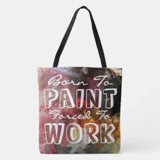 Soutenu pour peindre le sac fourre-tout