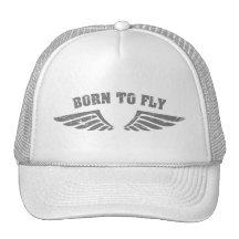 Soutenu pour piloter des ailes casquette de camionneur