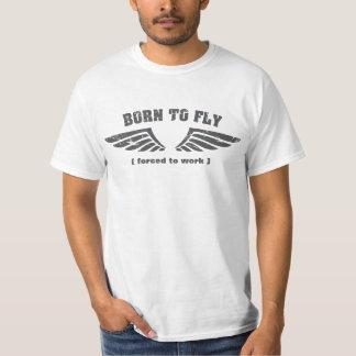 Soutenu pour piloter des ailes t-shirt