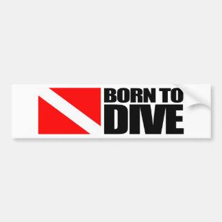 Soutenu pour plonger autocollants pour voiture