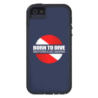 Soutenu pour plonger (rd) étui iPhone 5