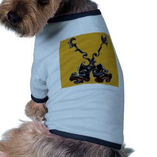 Soutenu pour sélectionner sur ceci t-shirt pour chien