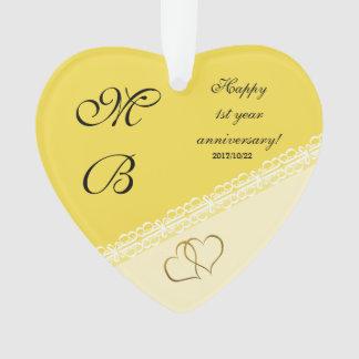 Souvenir d'anniversaire de mariage