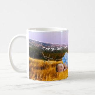 Souvenir de bébé mug blanc