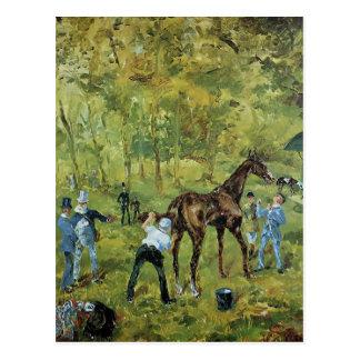 Souvenir de Henri De Toulouse-Lautrec d'Auteuil Carte Postale