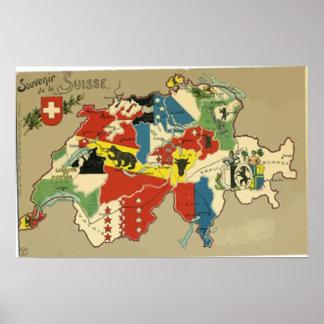 Souvenir De La Suisse, cru Poster