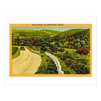 Souvenir de Pickney, cru de MI Carte Postale