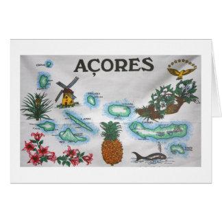 Souvenir des Açores Cartes