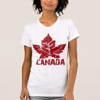 Souvenir du Canada du Canada des femmes fraîches T-shirt