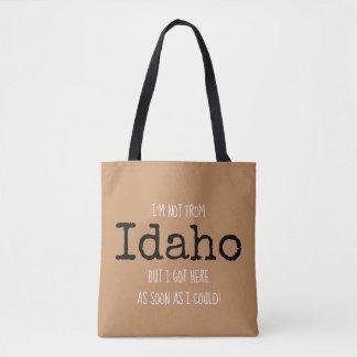 Souvenir Fourre-tout de sac d'état de l'Idaho