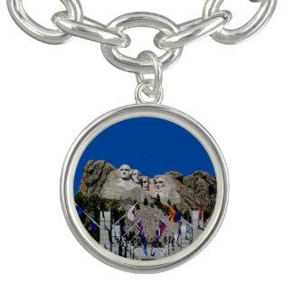 Souvenir personnalisable de Mt Rushmore Bracelet