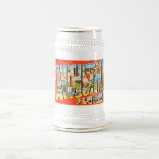 Souvenir vintage de voyage de St Augustine la Chope À Bière