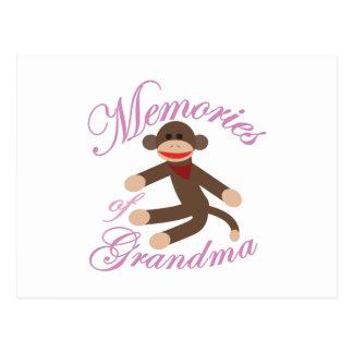 Souvenirs de grand-maman cartes postales
