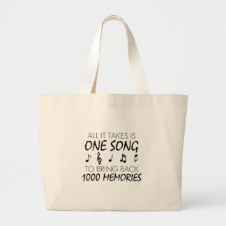 Souvenirs de musique grand sac