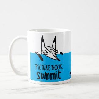 Souvenirs de sommet de livre d'images mug