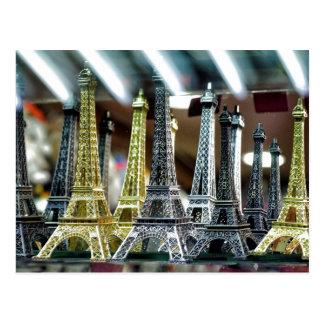 Souvenirs de Tour Eiffel Carte Postale