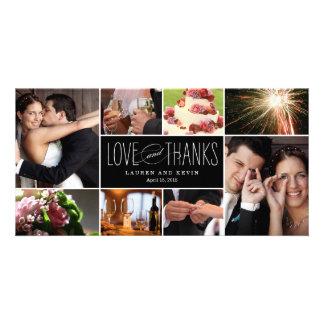 Souvenirs doux épousant des cartes photos de Merci Photocarte Customisée