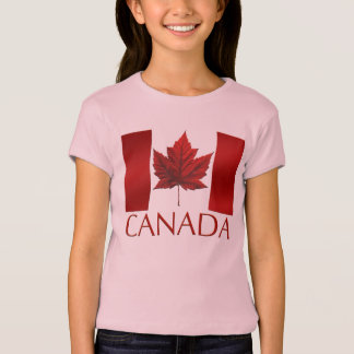 Souvenirs du Canada de l'enfant du T-shirt de la