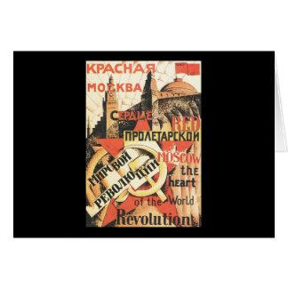 Soviétique Carte De Vœux
