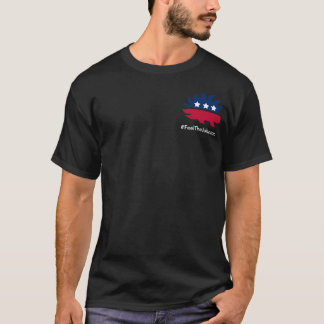 Soyez #feelthejohnson libertaire avec moi ! t-shirt