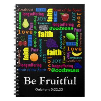 Soyez fructueux carnet