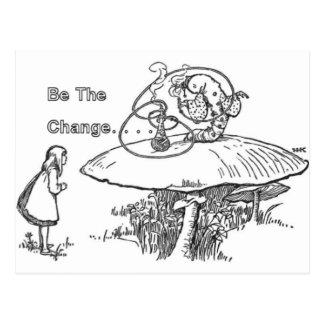 Soyez la carte postale de changement