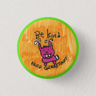 Soyez lapin aimable badges
