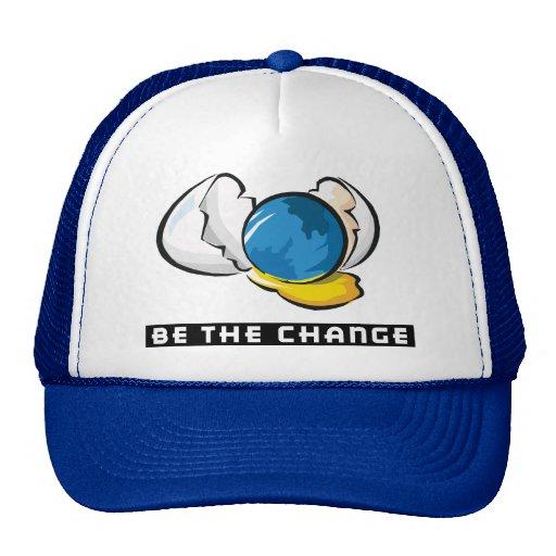 Soyez le jour de la terre de changement casquette de camionneur